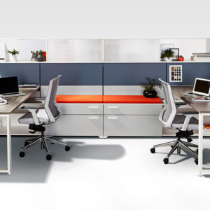 Shared Workspace with Layered Storage and Guest Seats